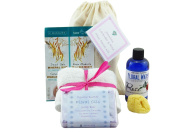 Mini Facial Kit With Jasmine, Rose & Lavender. Dead Sea Face Mask, Rose Floral Water Toner & Natural Sea Sponge, Jasmine & Lavender Floral Oils Soap With 100% Cotton Wash Cloth. Great Stocking Filler!