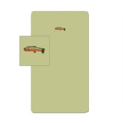 Patch Magic Fly Fishing Fitted Crib Sheet