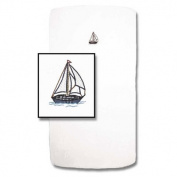 Patch Magic Nautical Fitted Crib Sheet