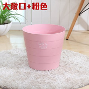Creative Home Living Room Bedroom Kitchen No Cover Large Sanitary Latrines, Minimalist, Barrels, Pink