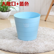 Creative Home Living Room Bedroom Kitchen No Cover Large Sanitary Latrines, Minimalist, Barrels, Sky Blue