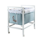 Cradle Nest with Wheels - 55 x 42 x 80 cm - Beech Structure Material - Made in Italy