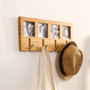 houyuanshun Creative Solid Wood Coat Rack (wall-mounted), Entrance Decoration / Wall Hook Coatrack Hallstand Hatstand