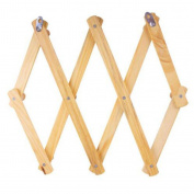 Behind the door Hangers Wooden bamboo system Collapsible simple Coat rack Wall hanging Wall shelf