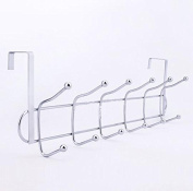 No trace Free nail hook stainless steel Behind the door Coat rack Clothing hooks