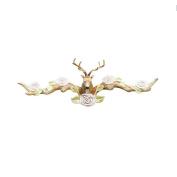 American vintage antlers hook wall decoration hanging hanger garment shop fitting cloakroom Hook