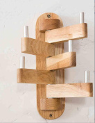 FAFZ-clothing shelves Bedroom Oak Rotate Hanger Clothes Hooks On The Wall Wall Hanging Coat Racks Hanging Hanger Clothes hook