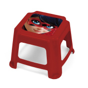 Arditex lb11879 Stool Plastic, Design Lady Bug