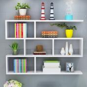 Amour Lighting Wall Shelf Restaurant Hanging Cabinet Living Room Modern Simple Bookshelf