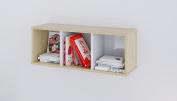 Polini Kids Classic Book Shelf, Stone Oak/White Gloss