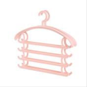 MAX-YIADD 10pce Multi-Purpose Closet Organiser Magic Trousers Pants Tie Slack Rack Hanger, , 3