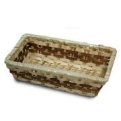 Three rectangular trays