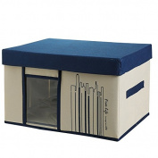 CUPWENH Fabric Storage Box, Non-Woven Fabrics, Clothes Storage Box, Wardrobe Sorting Box, Underwear Storage Box,K