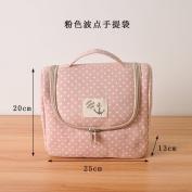 CUPWENH Home Furnishing Storage Board Box Bag Portable Bag Holding Sundries Box,B
