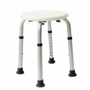 Shower chair Old People Bathroom Stool Pregnant Women Elderly Aluminium Alloy Non-slip Bath Chair Height Adjustable Round