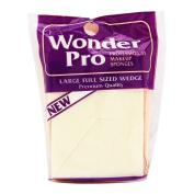 Wonder Pro Professional Makeup Sponges Large Full Sized Wedge #04100 8 Count