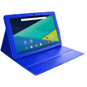 Visual Land 34cm IPS QuadCore Tablet 64GB Metal Back includes Custom Case, Android 5.1 Lollipop