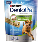 Purina DentaLife Daily Oral Care Large Dog Treats 7 ct Pouch