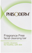 pHisoderm Facial Skin Cleansing Bar, Fragrance Free 2pack [2 x 100ml bars]