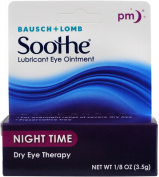 6 Pack - Bausch & Lomb Soothe Lubricant Eye Ointment Night Time 3.50 g