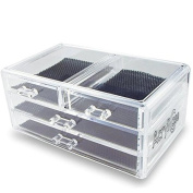 Acrylic Makeup & Jewellery Organiser 4 draw Cosmetic Storage Display Box by AcryliCase®