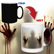 Colour Change Zombie Mug - For Walking Dead & Zombie Fans!