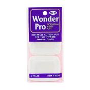 Wonder Pro Rectangle Cotton Puff For Face Powder 2 Pieces