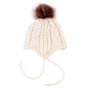 Bluelans Baby Boys Girl Knitted Winter Beanie Pom Pom Bobble Warm Hat Christmas Gift