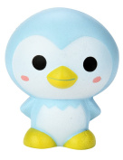 Squeeze Toy Penguin, Weant Stress Relief Toys Cartoon Penguin Animal Cream Scented Squishy Slow Rising Toys for 6 Year Old Kids Adult Home Decor Christmas gift