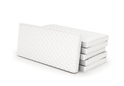 """Coton Mode Junior Baby Non-Slip Bottom Cot Bed Toddler Quilted Foam Mattress WaterProof Cover Size(48""""x24""""x5"""") 120x60x13 Cm"""