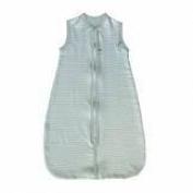 Bamboom 104 – 033 – 035 COMBI Muslin Sleeping Bags, stripe light blue