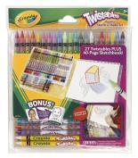 Crayola Twistables Pencils Sketch N Shade Gift Set