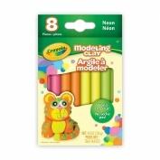 Crayola Modelling Clay .180ml 8/Pkg-Neon