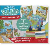 Melissa and Doug Mess-Free Sand Animal Themed Craft Set