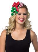 Mistletoe Striped Holiday Headband