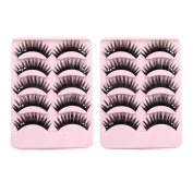 30 Pairs Thick False Eyelashes Extension Eyes Beauty Makeup Cosmetic Tool #1
