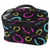 Colourful Ovals Pattern Foldable Cosmetic Holder Bag for Womens