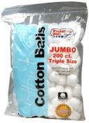 Preferred Plus Cotton Balls, Jumbo 200 ea