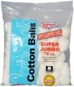 3 Pack - Cotton Balls Super Jumbo 70 ea