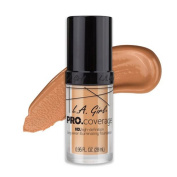 (3 Pack) L.A. Girl Pro Coverage Illuminating Foundation - Natural