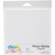 Ken Oliver Water-Media Paper 10/Pkg-15cm x 15cm
