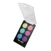 (6 Pack) KLEANCOLOR Beautician Lab Shimmer Shadow Pallete Cutting Edge