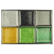 (6 Pack) KLEANCOLOR Cream Glitter Eyeshadow - Phantom