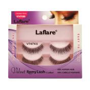 (3 Pack) LAFLARE Velvet Remy Lash Double Pack - V747XSD