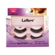(3 Pack) LAFLARE Velvet Remy Lash Double Pack - V66D