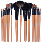 SHANY Cosmetics Makeup Apron with Premium Brush Set, 18 pc