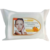 BioMiracle Vitamin C Makeup Cleansing Towelettes, 30 sheets,