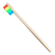 Msmask Colourful Bamboo Toothbrush Soft Standard Eco friendly Tooth Brush Adult Health