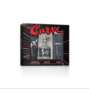 Curve Crush Cologne Gift Set for Men, 3 pc