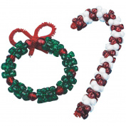 Beaded Ornaments Craft Kit, Pack of 32